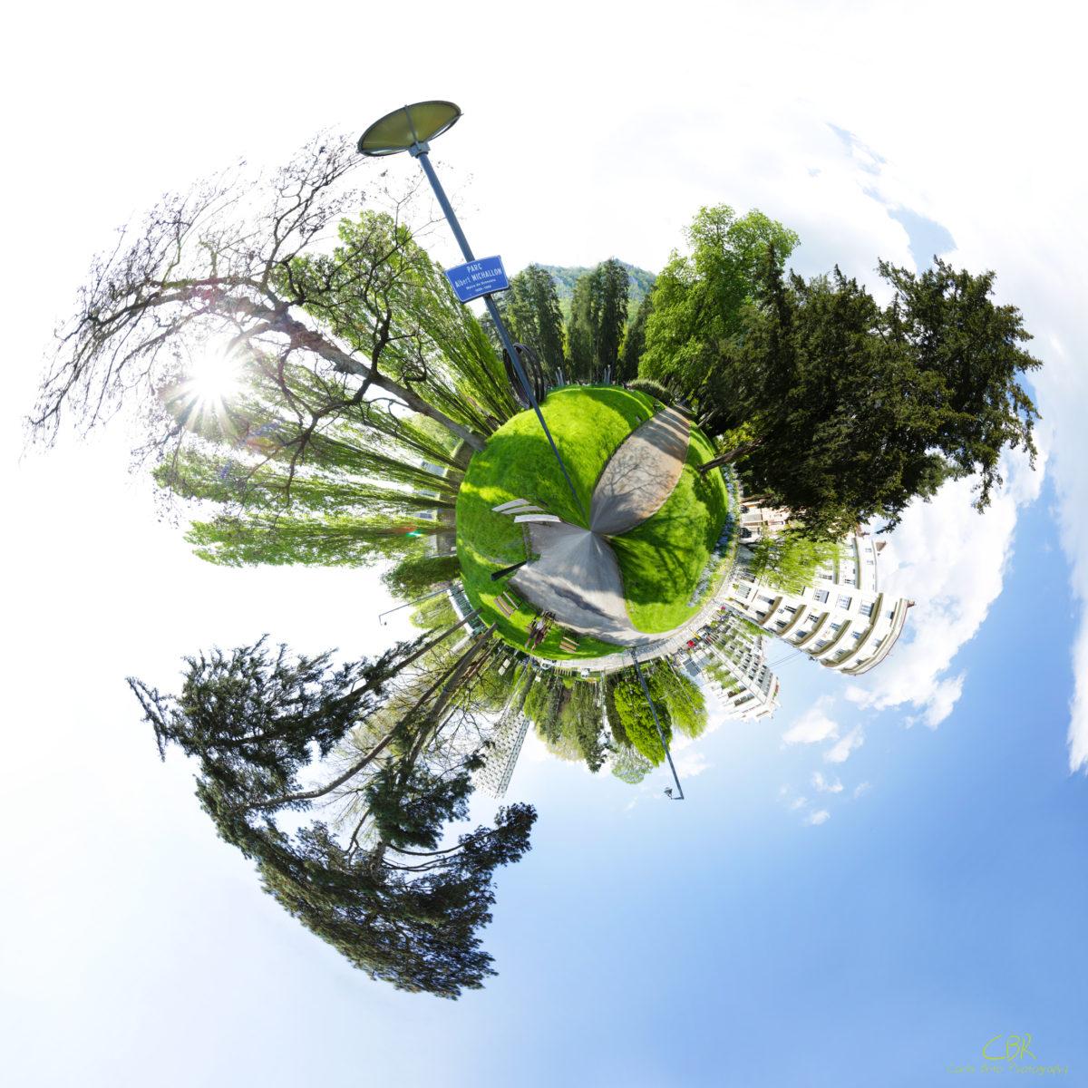 My little planet #2 @ Park Albert-Michallon - Grenoble (France)