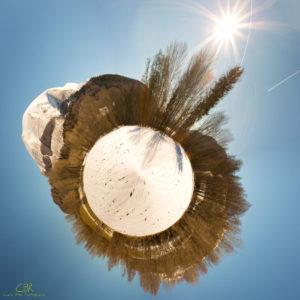 My little planet #8 @ Lac du Petichet - Saint-Théoffrey (Auvergne-Rhône-Alpes, France)