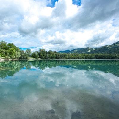 Taillât lake (Meylan, Auvergne-Rhône-Alpes, France)