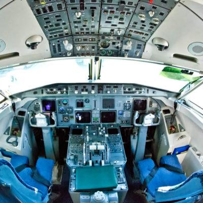 """Attention all passengers: Carla Brito to the airplane control!"""