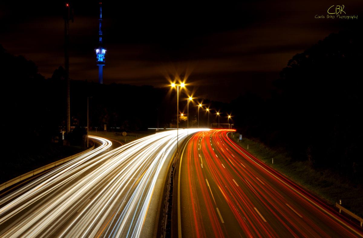Saturday Night Traffic (Monsanto, Lisboa, Portugal)