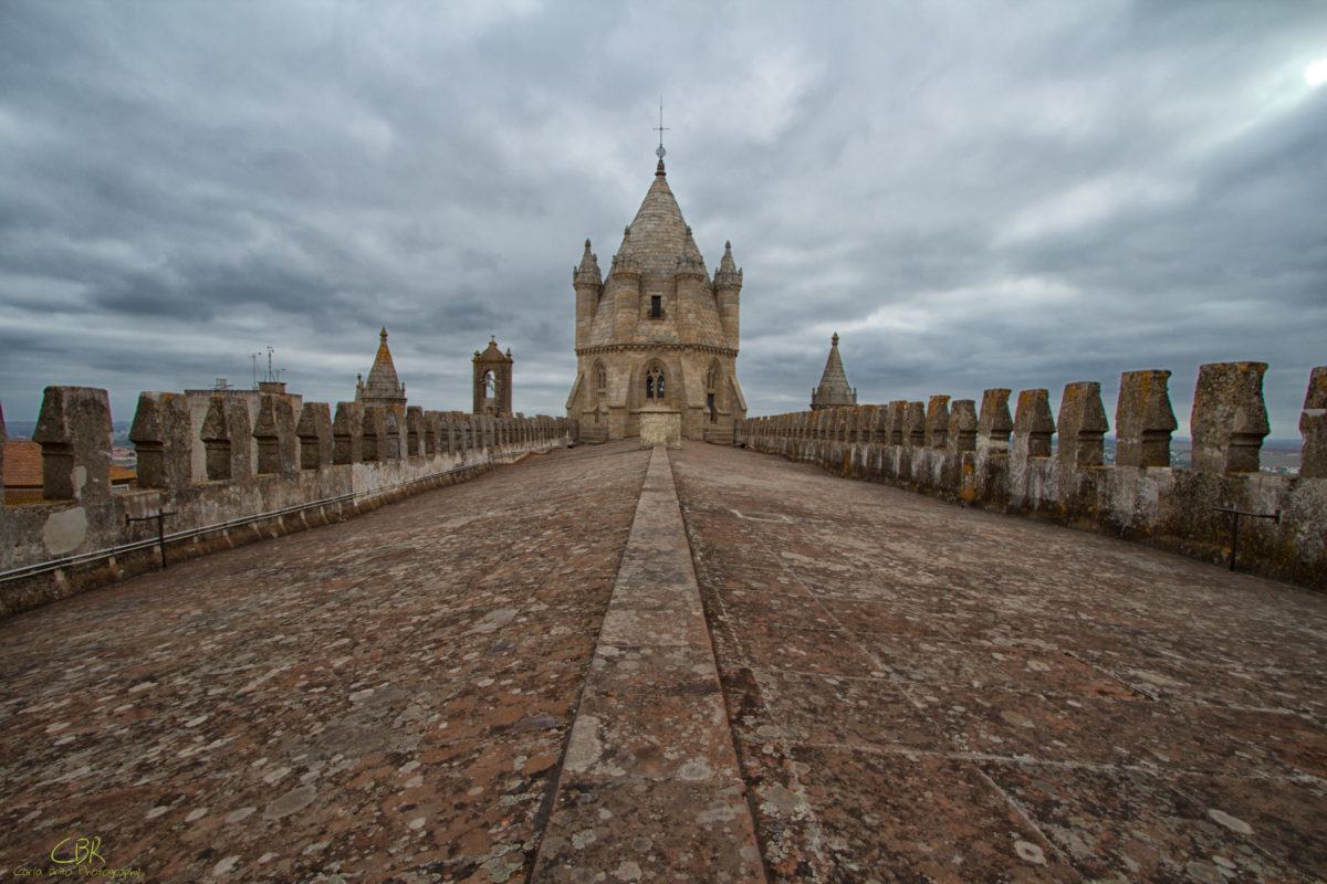 Top of Cathedral of Évora (Évora, Portugal)