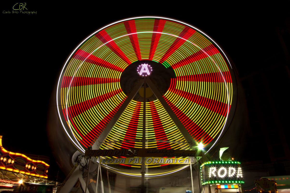 Ferris-Wheel, Christmas Fairground (Lisbon, Portugal)