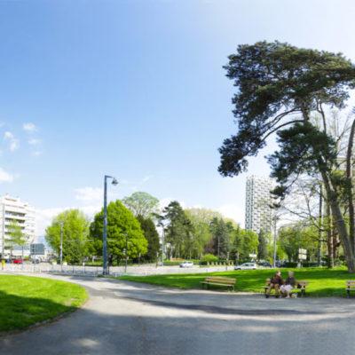Park Albert-Michallon (Grenoble, Auvergne-Rhône-Alpes, France)